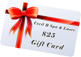 cecib spa & laser 25 gift card