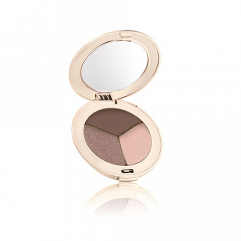 jane iredale triple pure pressed eye shadow brown sugar